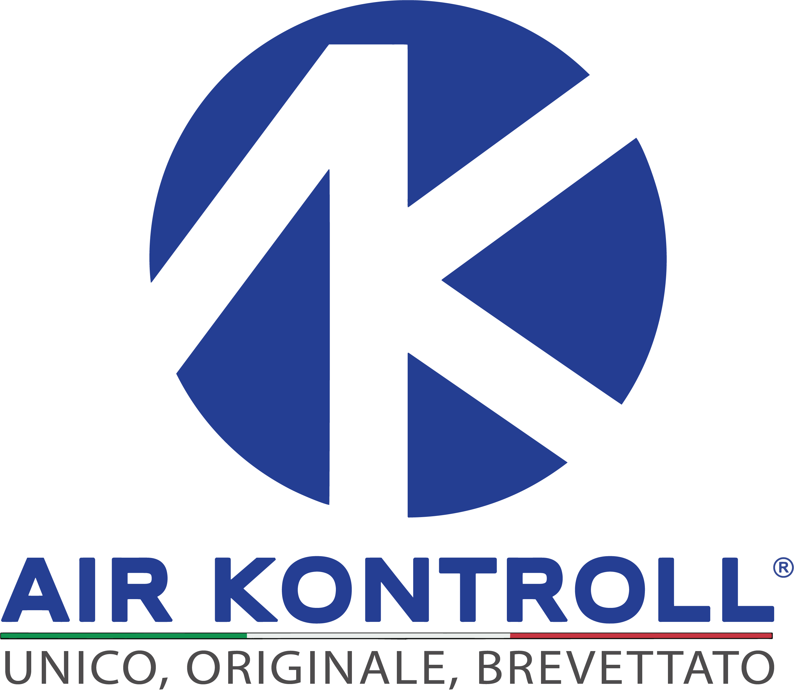 LOGO AIR KONTROLL VERTICALE + SCRITTA